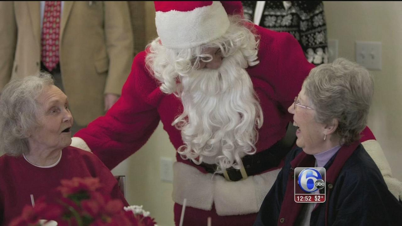 VIDEO: Art of Aging: Be A Santa