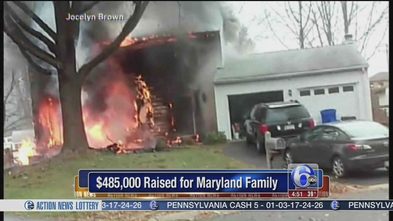 VIDEO: $485K raised for family in jet crash into home