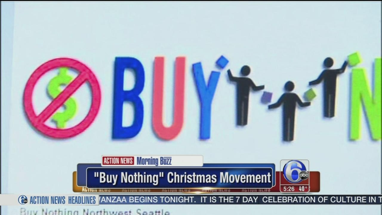 VIDEO: Buy Nothing Christmas movement