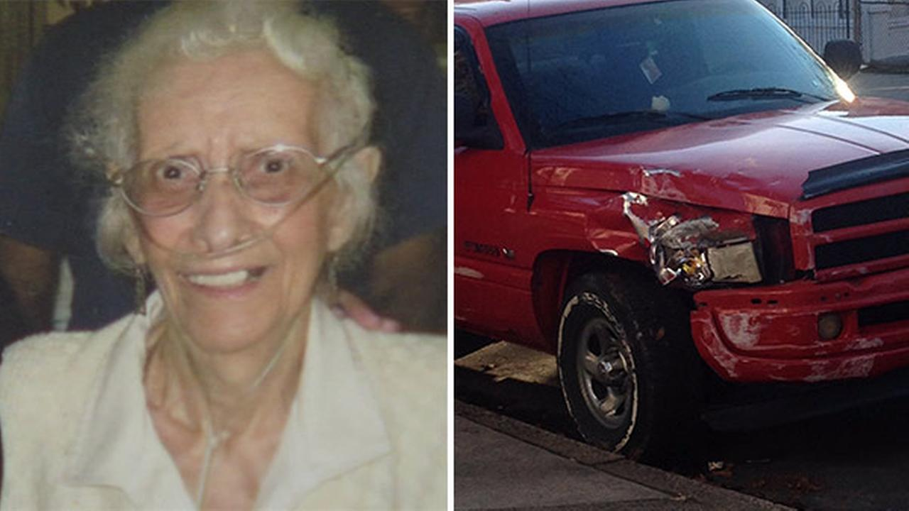 Woman, 93, dies after hit-and-run driver slams into house