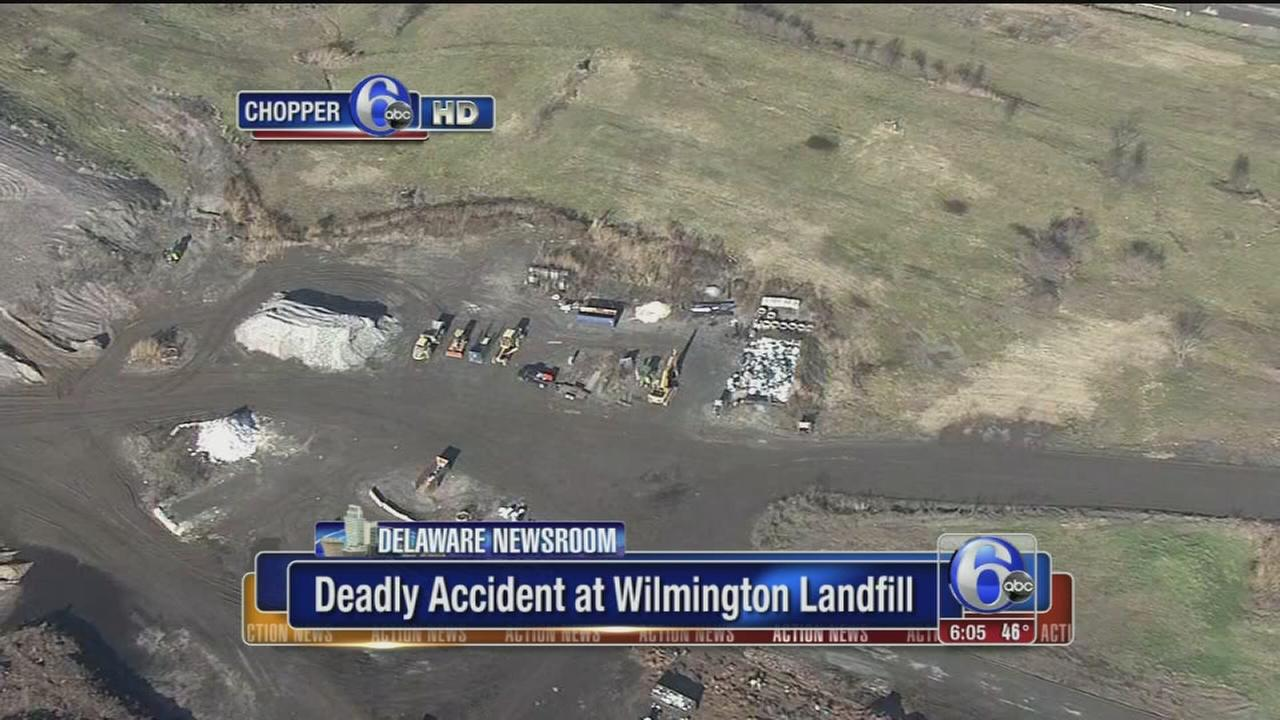 VIDEO: Worker fatally struck by tractor at Wilmington landfill