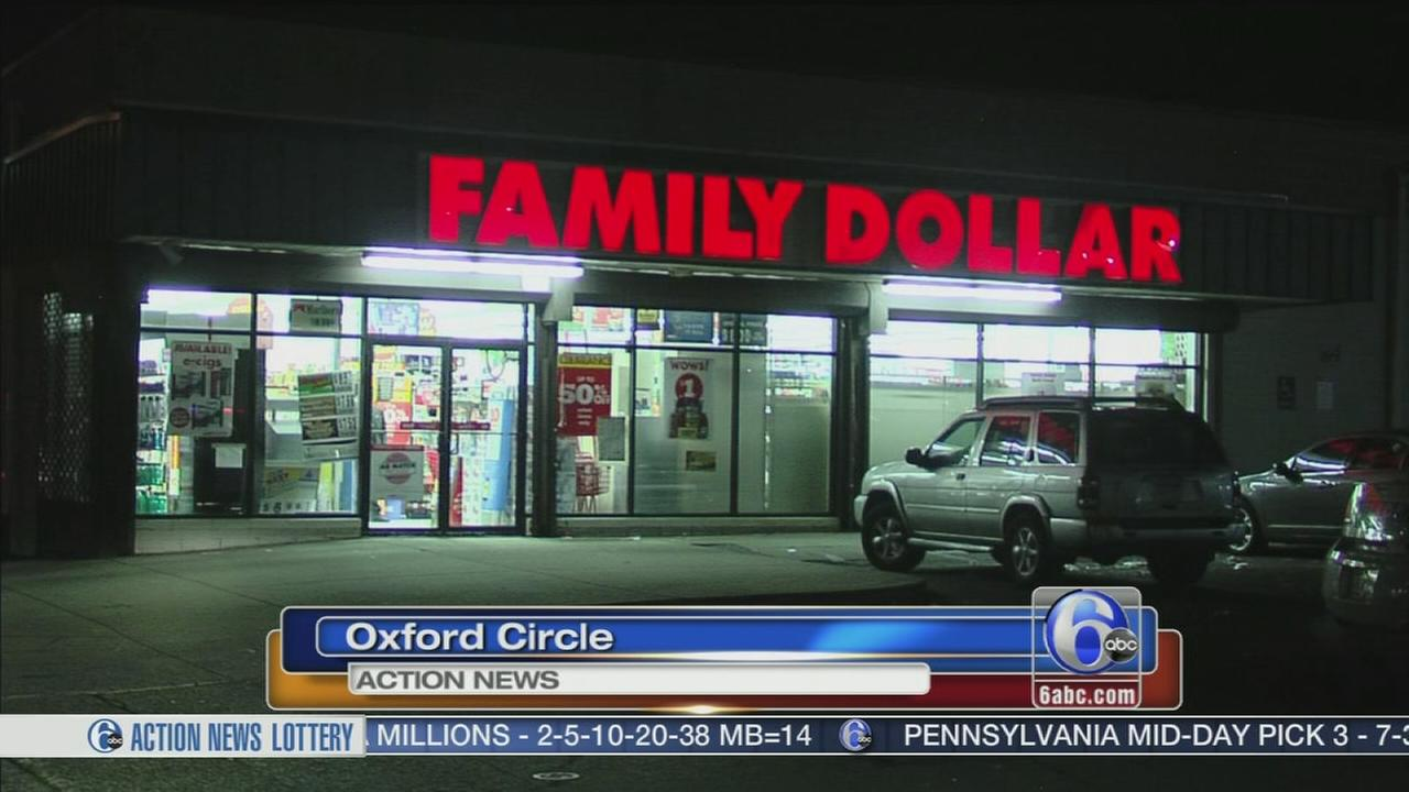 VIDEO: 2 men sought in armed robbery of Family Dollar store