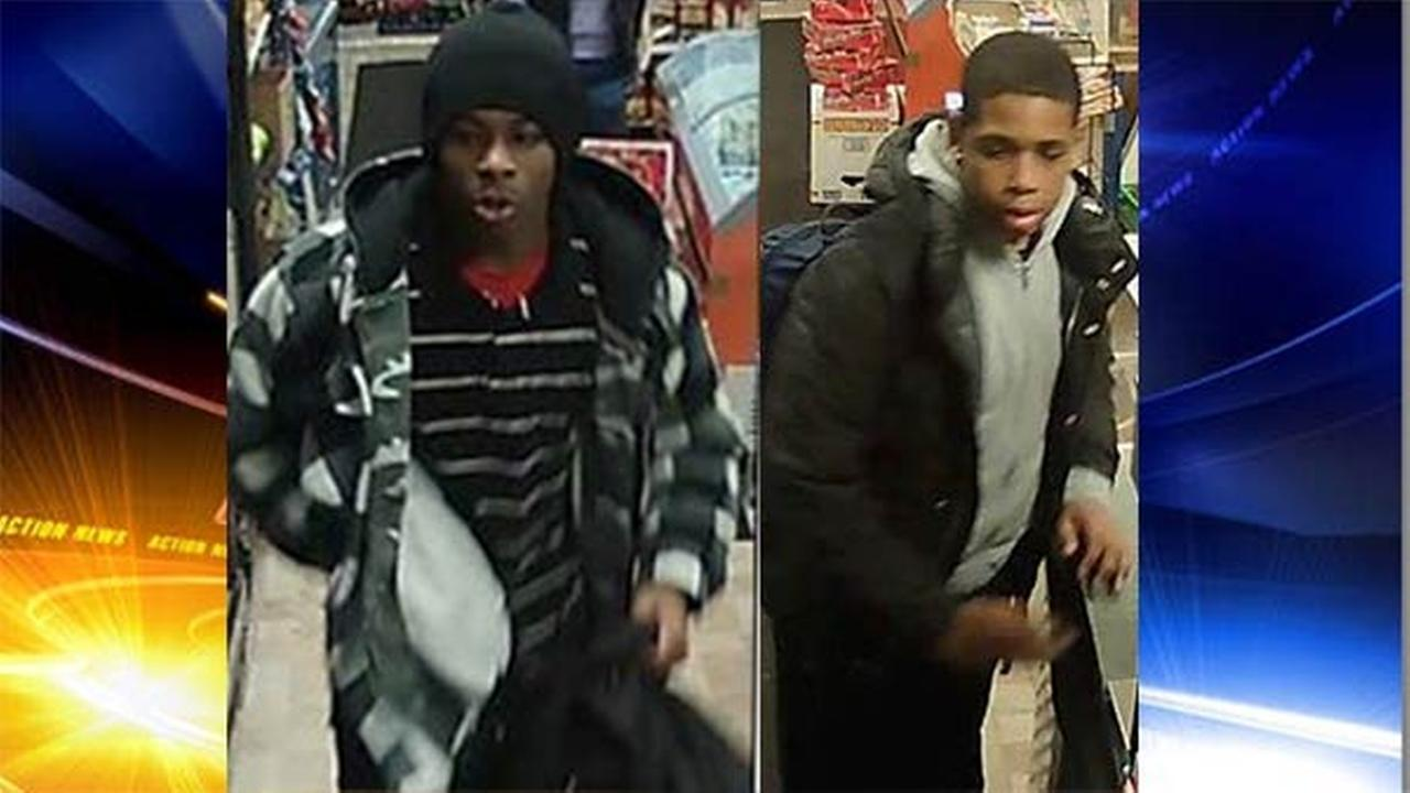 Search for armed bandits in South Philadelphia robberies