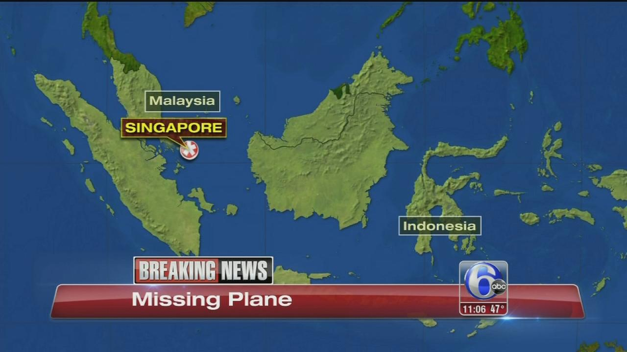 VIDEO: TV: Plane with 162 aboard missing in Indonesia