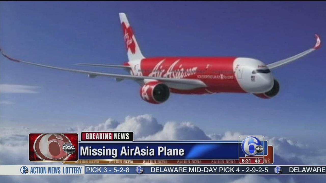 VIDEO: Missing plane
