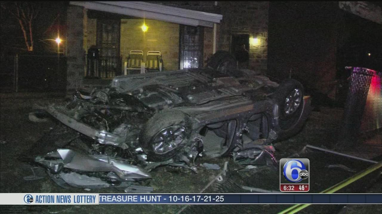 VIDEO: Northeast Philadelphia crash