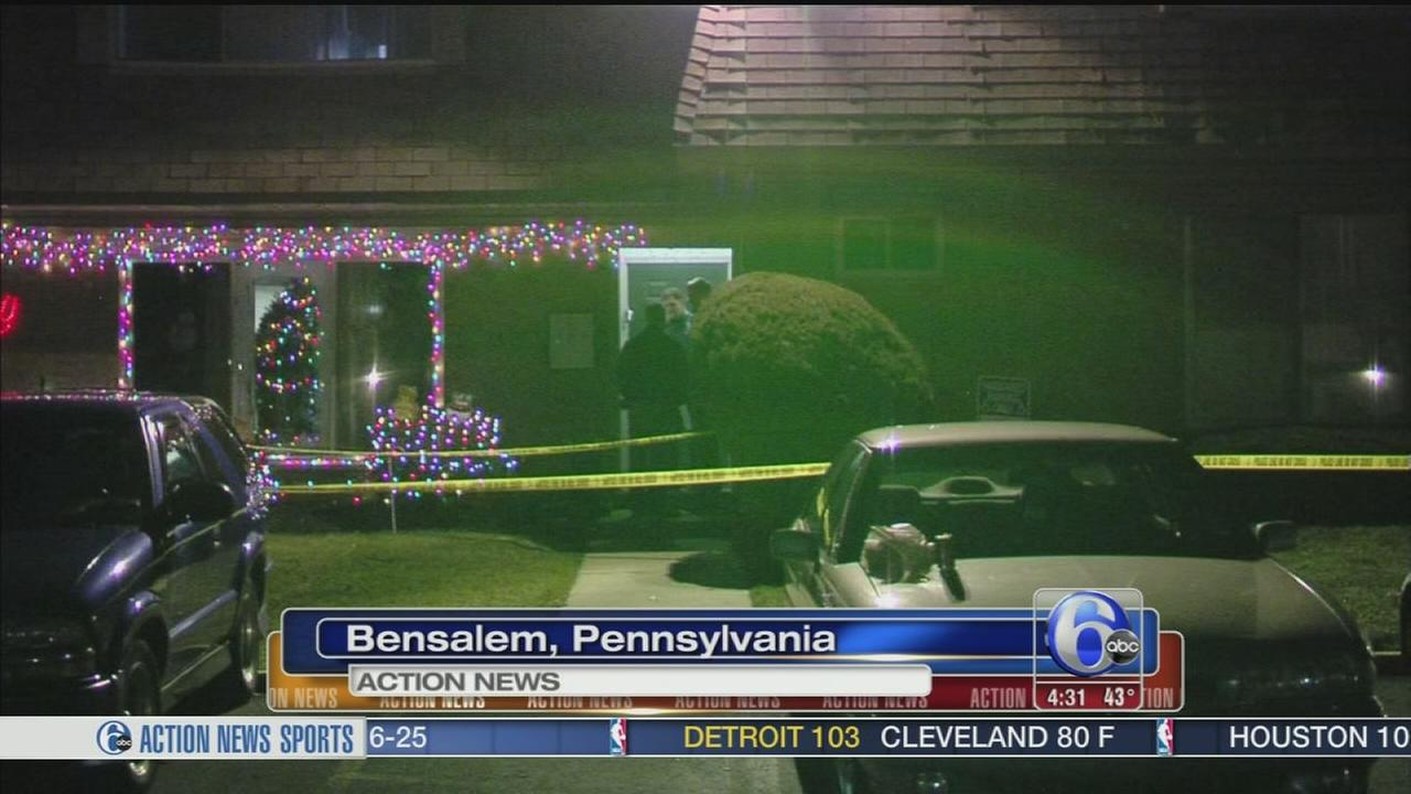 VIDEO: Burglary suspect shot by resident in Bensalem
