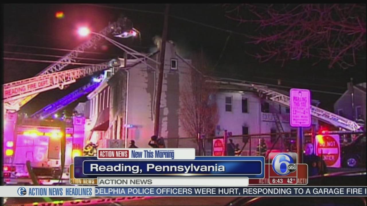 VIDEO: 2 killed in fire in Reading