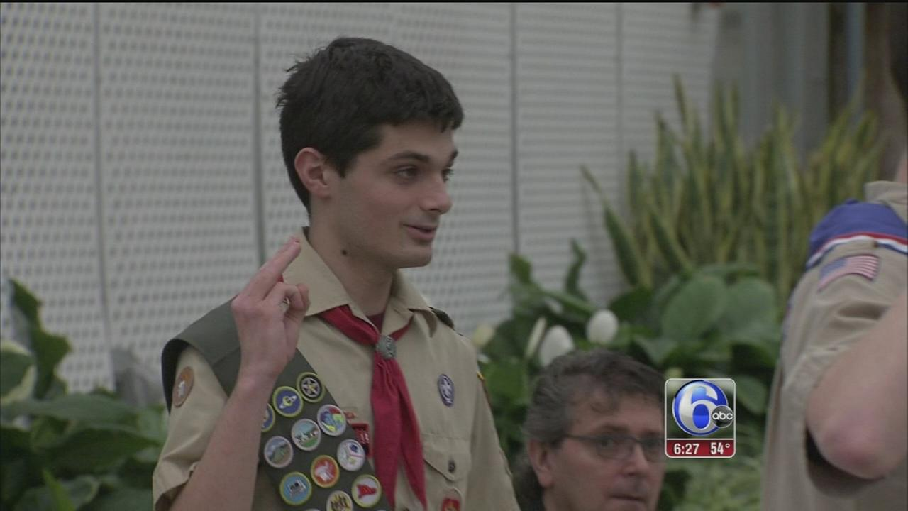 VIDEO: NE Philly teen achieves his Eagle Scout