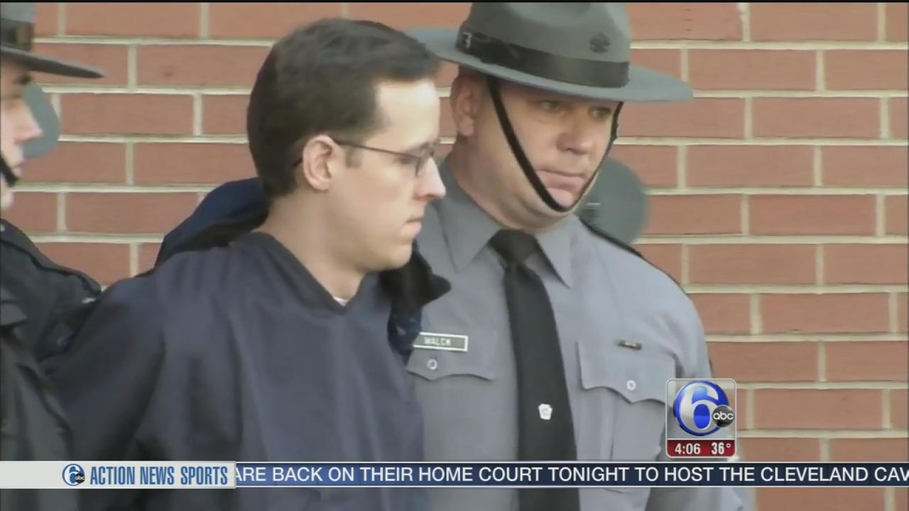 VIDEO: Eric Frein ordered to stand trial; graphic video shown at hearing