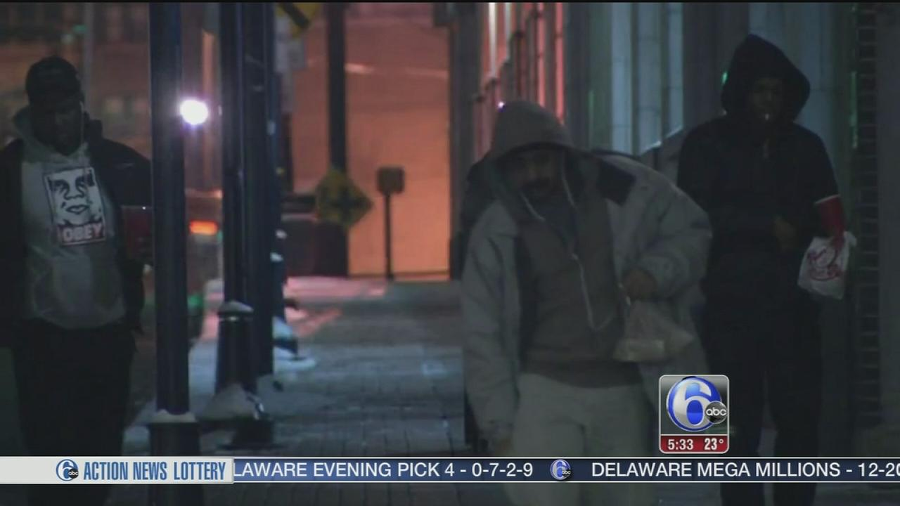 VIDEO: Arctic air descends on the region