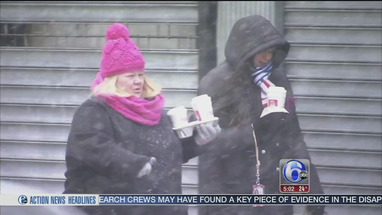 VIDEO: Dealing with dangerous cold in N.J.