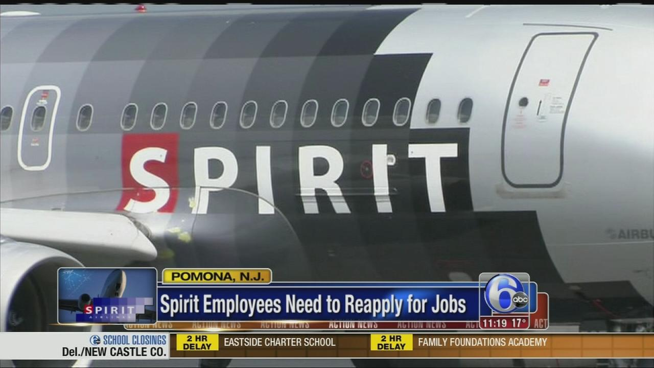 VIDEO: Spirit Airlines employees in AC losing their jobs