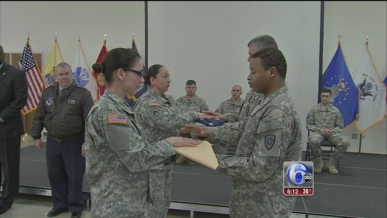VIDEO: Local troops in NJ Army Natl Guard return home