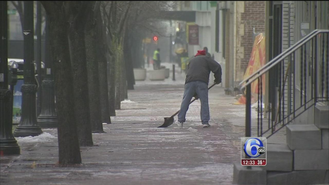 VIDEO: Re-freezing concerns in Lehigh Valley