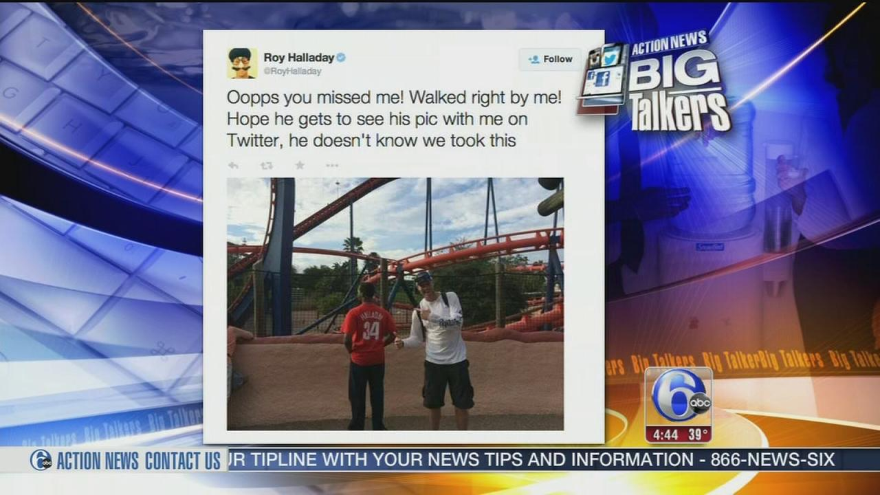 VIDEO: Halladay pranks unsuspecting fan
