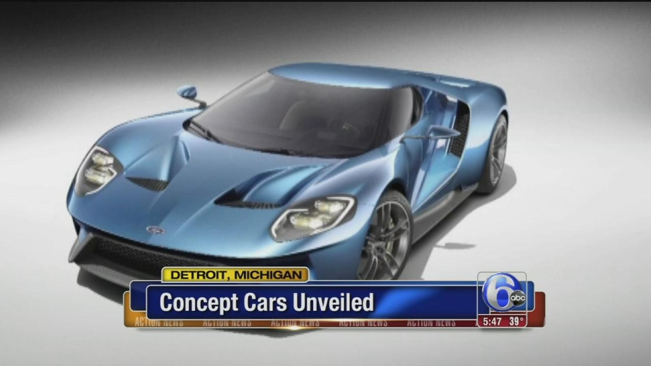 VIDEO: Concept cars