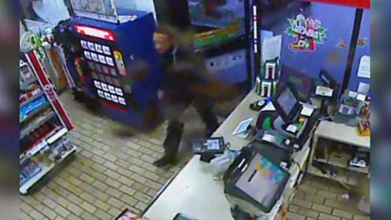Police have released surveillance video from inside a convenience store where a man was robbed after responding to a Craigslist ad in Philadelphias Mayfair neighborhood.