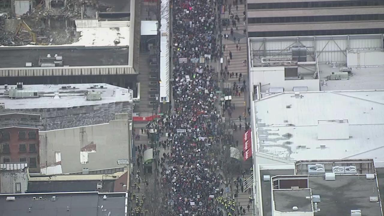 VIDEO: MLK Day of Action March in Center City