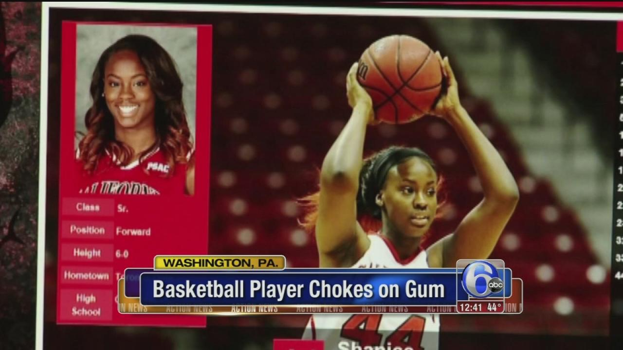 VIDEO: Chewing likely caused players death