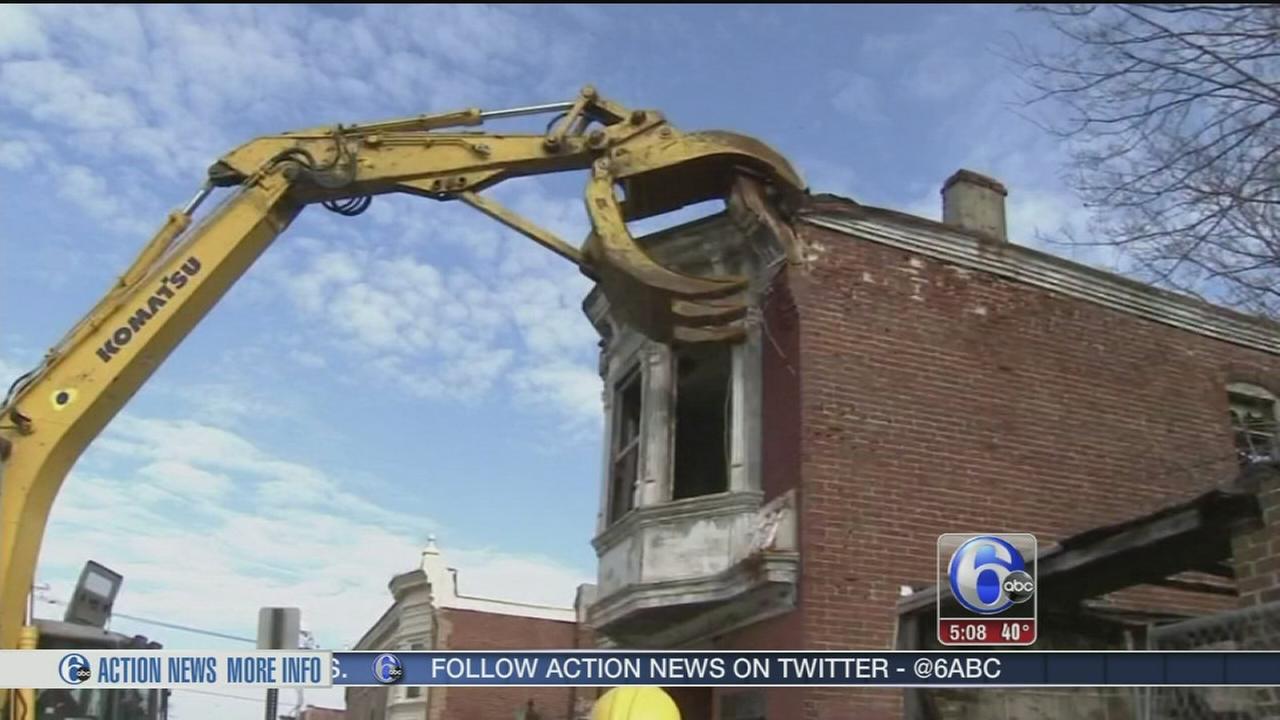VIDEO: Demolition program hopes to bring new life to Camden