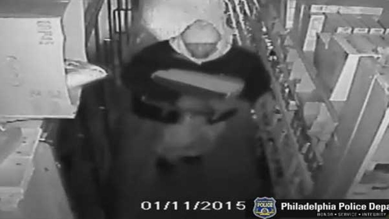 Philadelphia police are searching for a suspect who burglarized a deli in the citys Germantown section.
