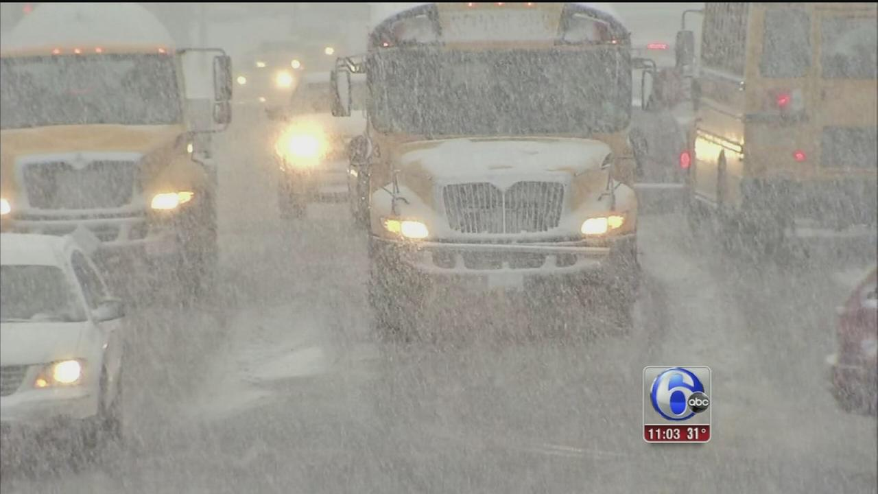 VIDEO: Kenneth Moton reports on snow aftermath in NJ