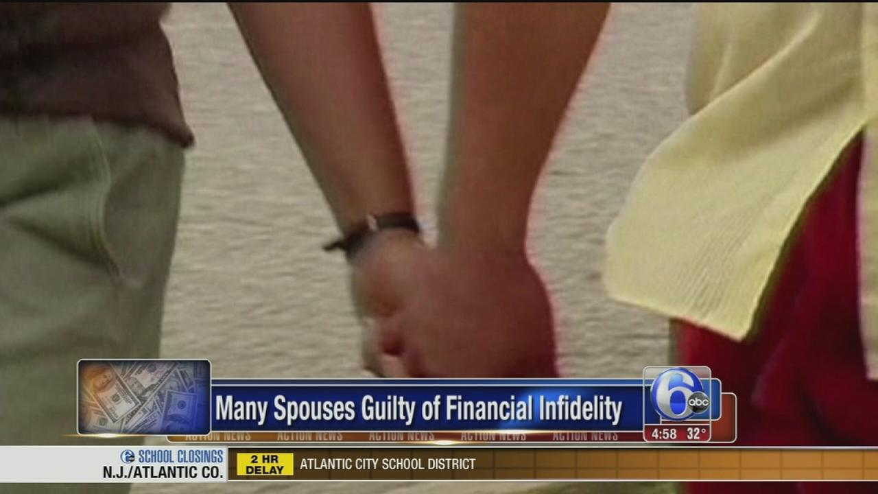 VIDEO: Survey: Many spouses cheat financially