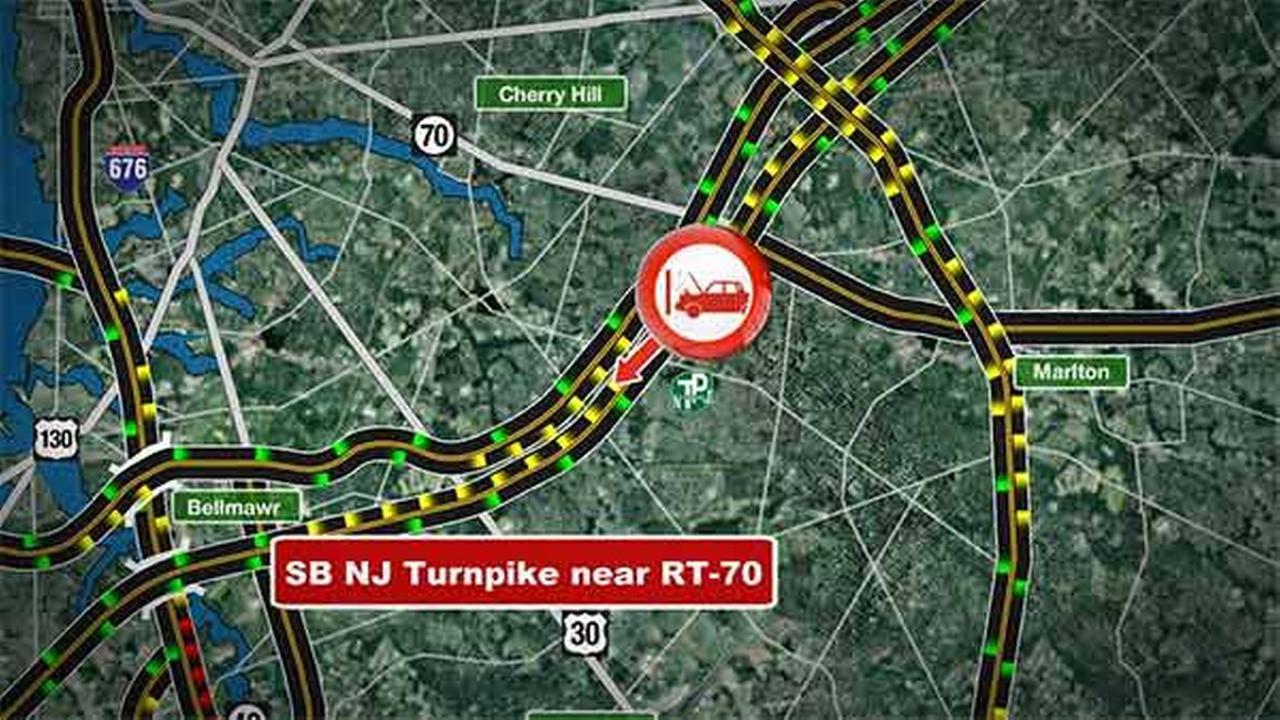 3 dead in crash on New Jersey Turnpike in Cherry Hill