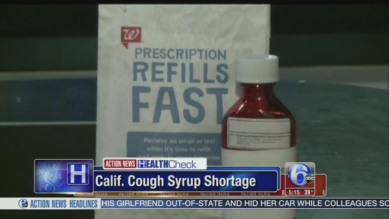 VIDEO: California sees cough syrup shortage