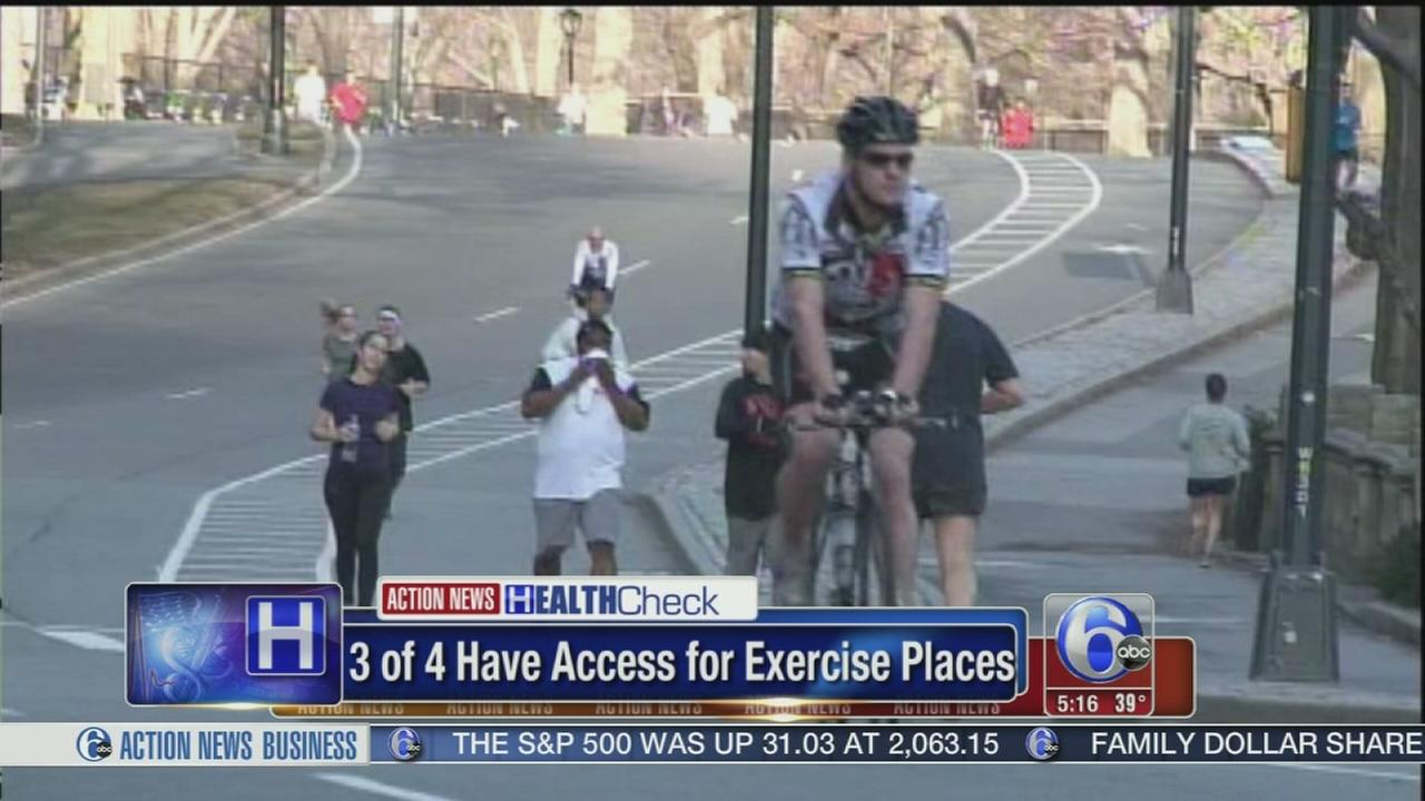 VIDEO: No place to exercise? Fact or excuse