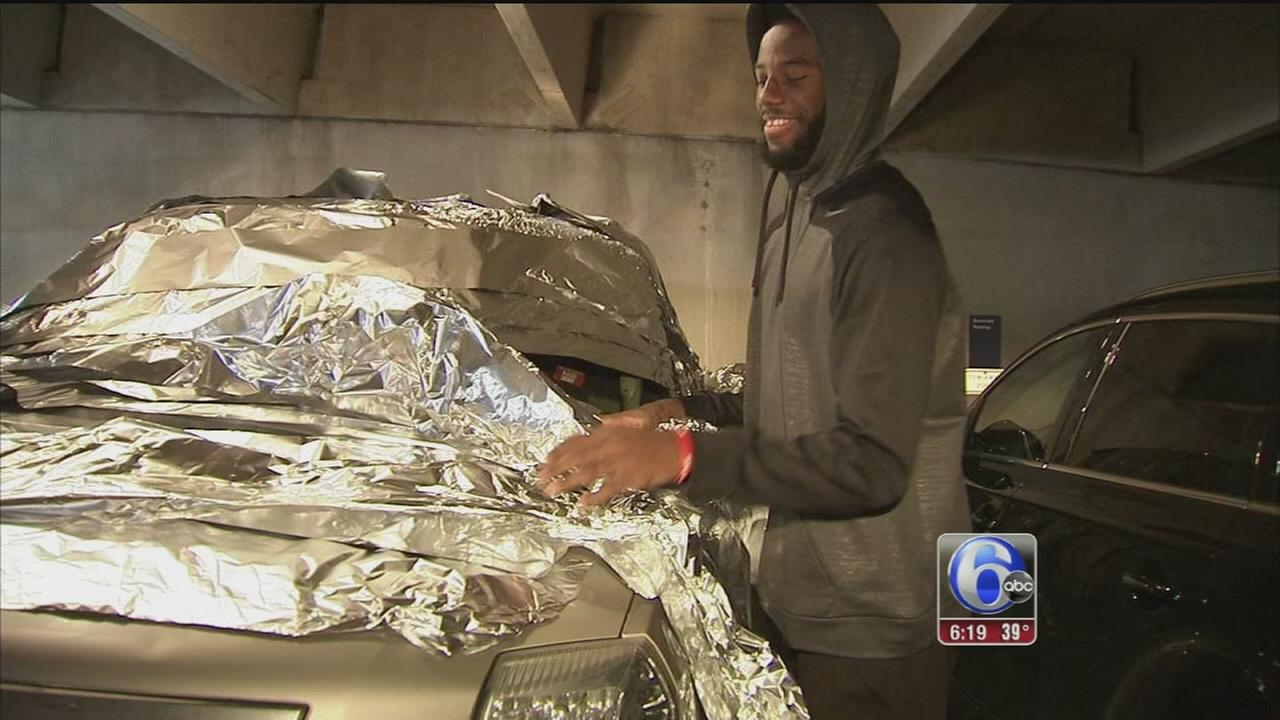 VIDEO: Sixers rookie foiled by team prank