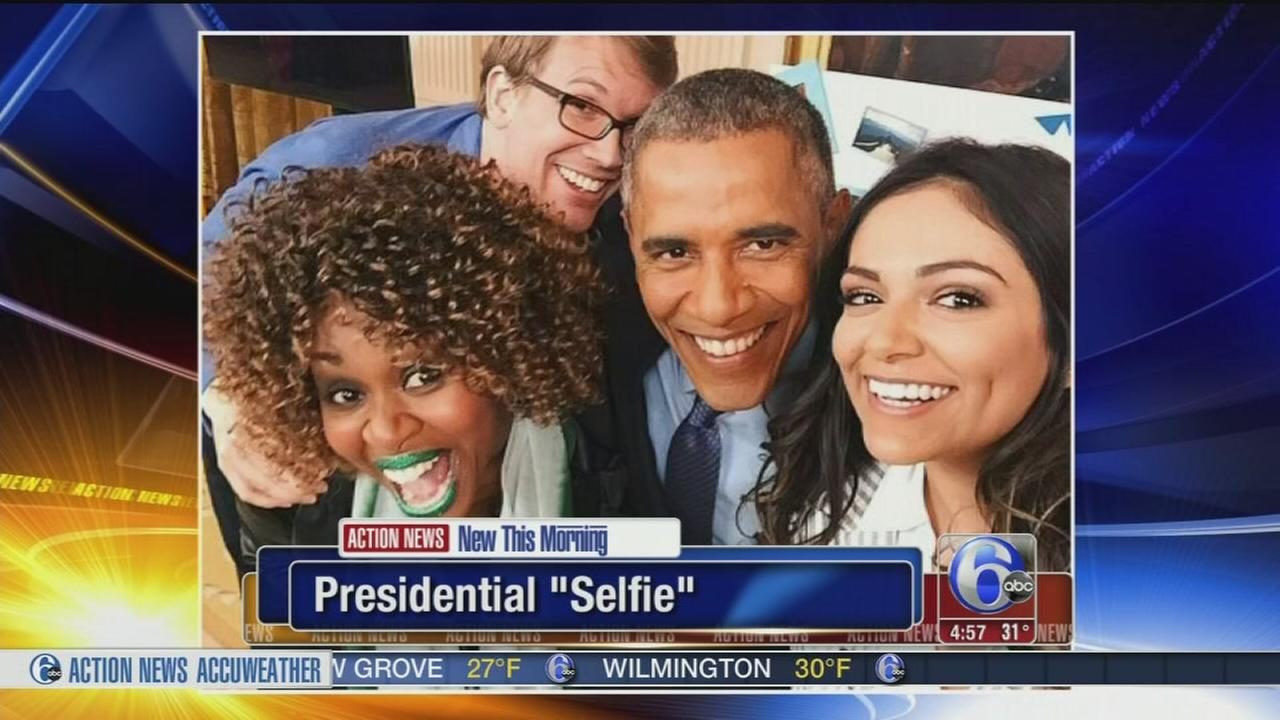 VIDEO: President Obama selfie with YouTube stars