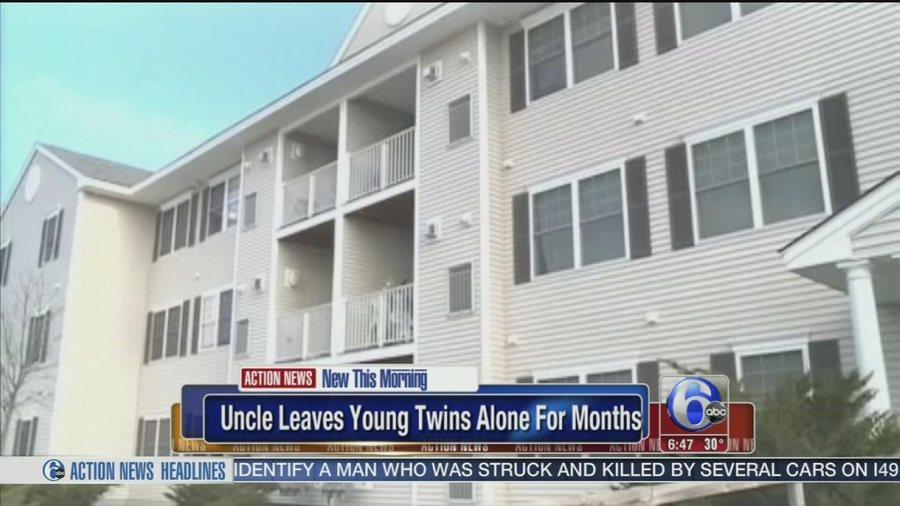 VIDEO: Twins, 9, left home alone for months