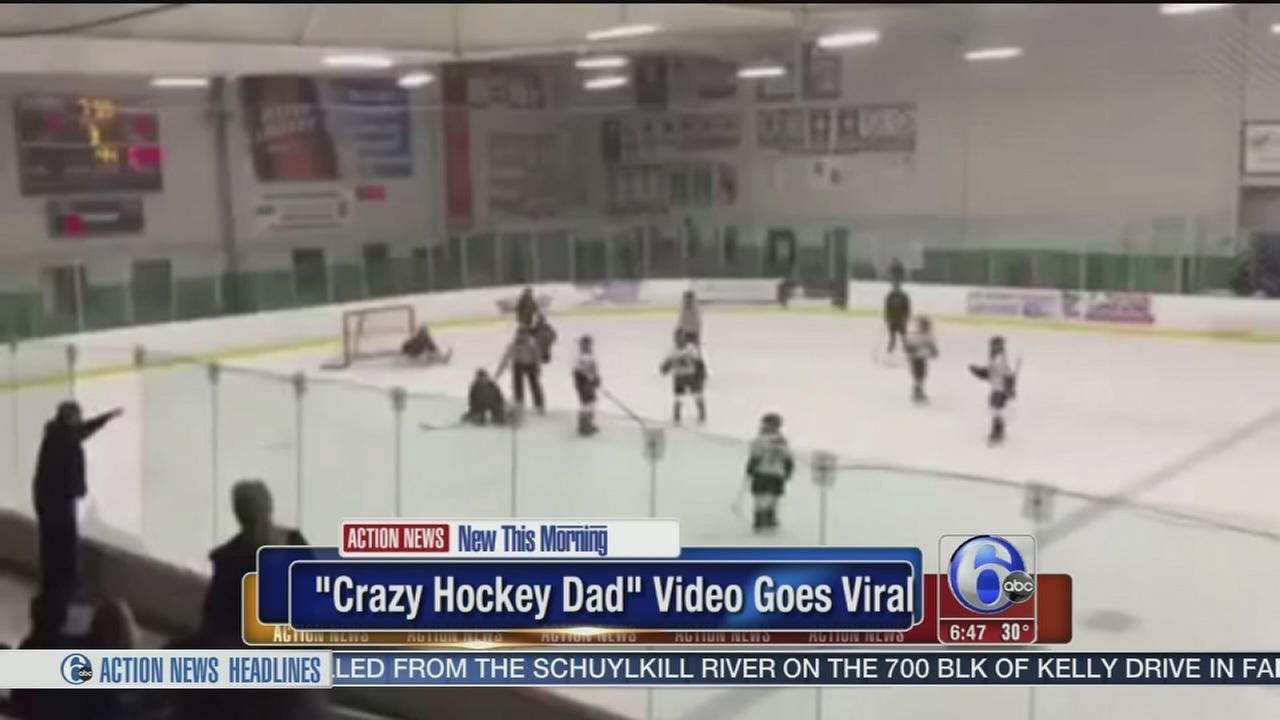 VIDEO: Crazy hockey dad video goes viral
