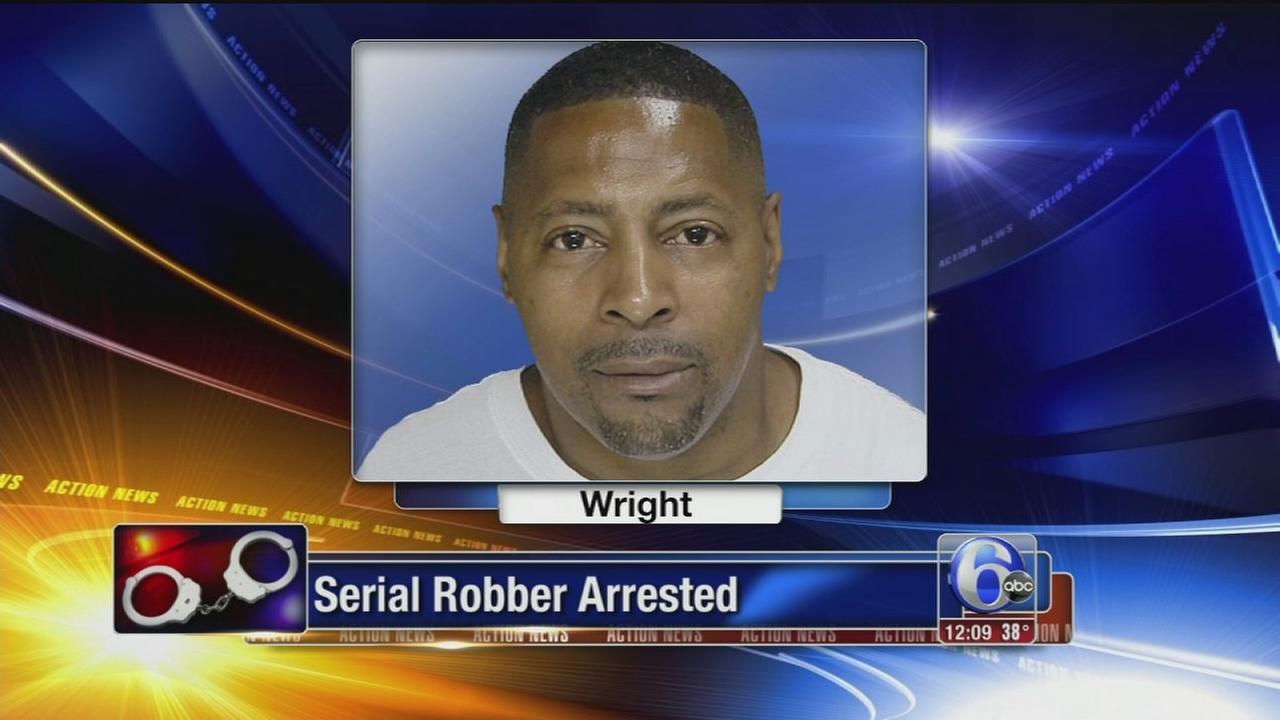 VIDEO: Serial robber arrested