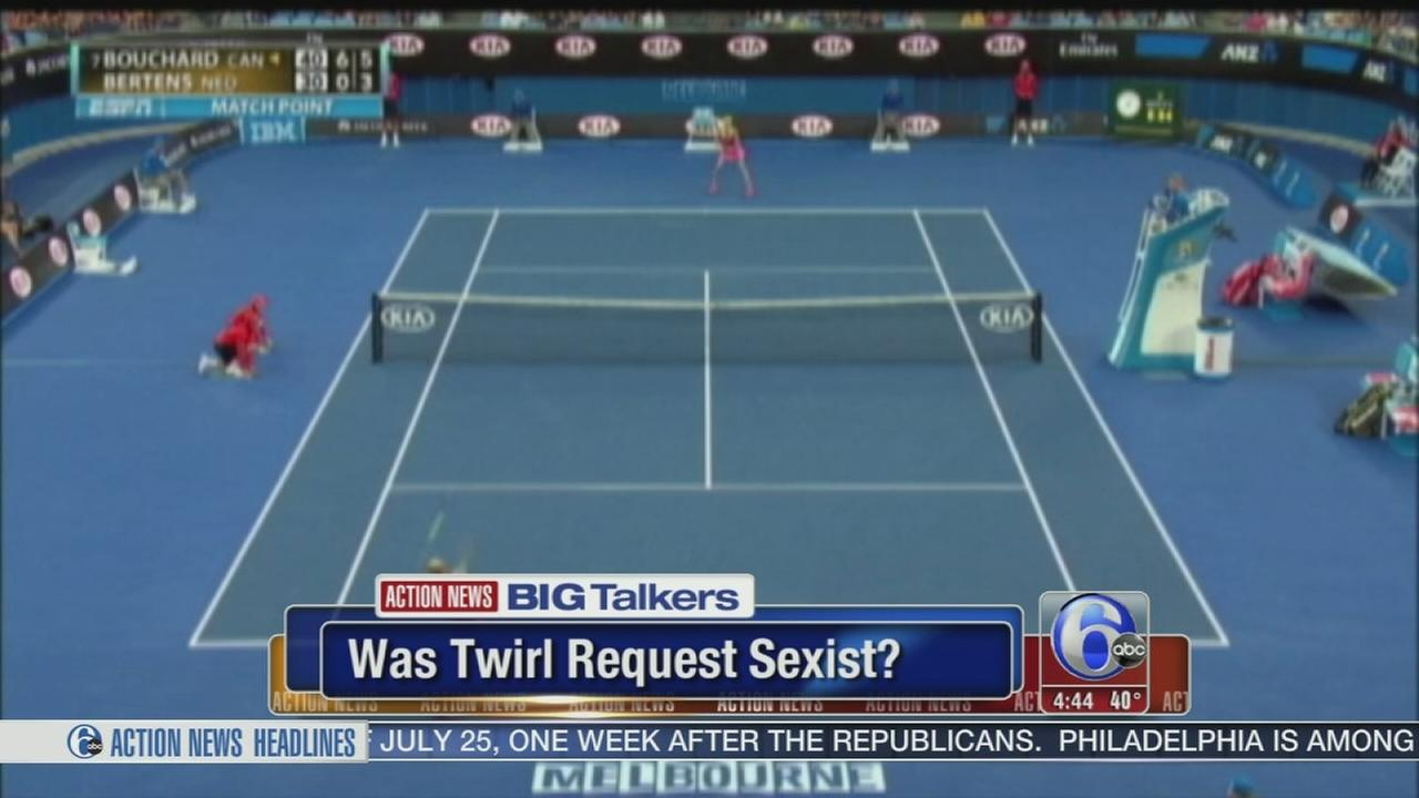 VIDEO: Was tennis twirl sexist