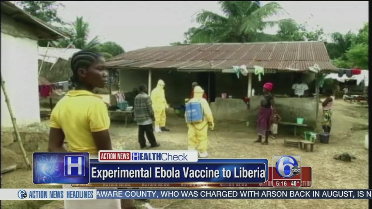 VIDEO: Experimental Ebola vaccine shipped to Liberia