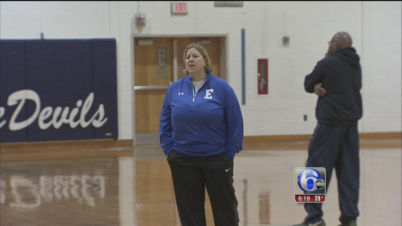 VIDEO: Ewing HS coach a trailblazer on the court