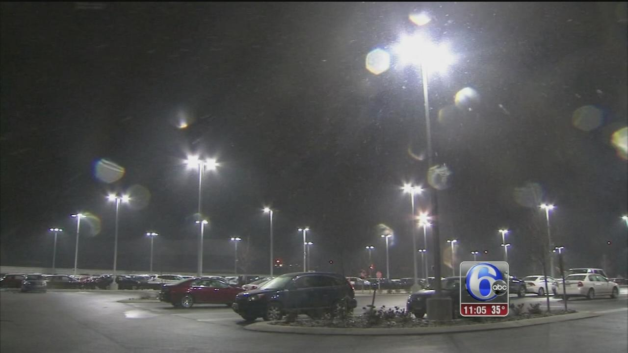 VIDEO: Dann Cuellar reports on snow in King of Prussia
