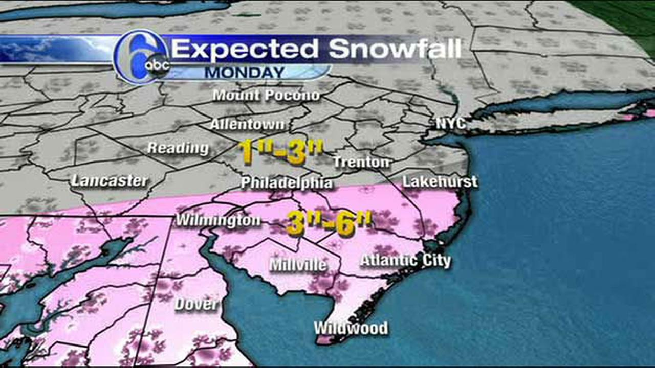 AccuWeather Maps: Tracking Sundays snow