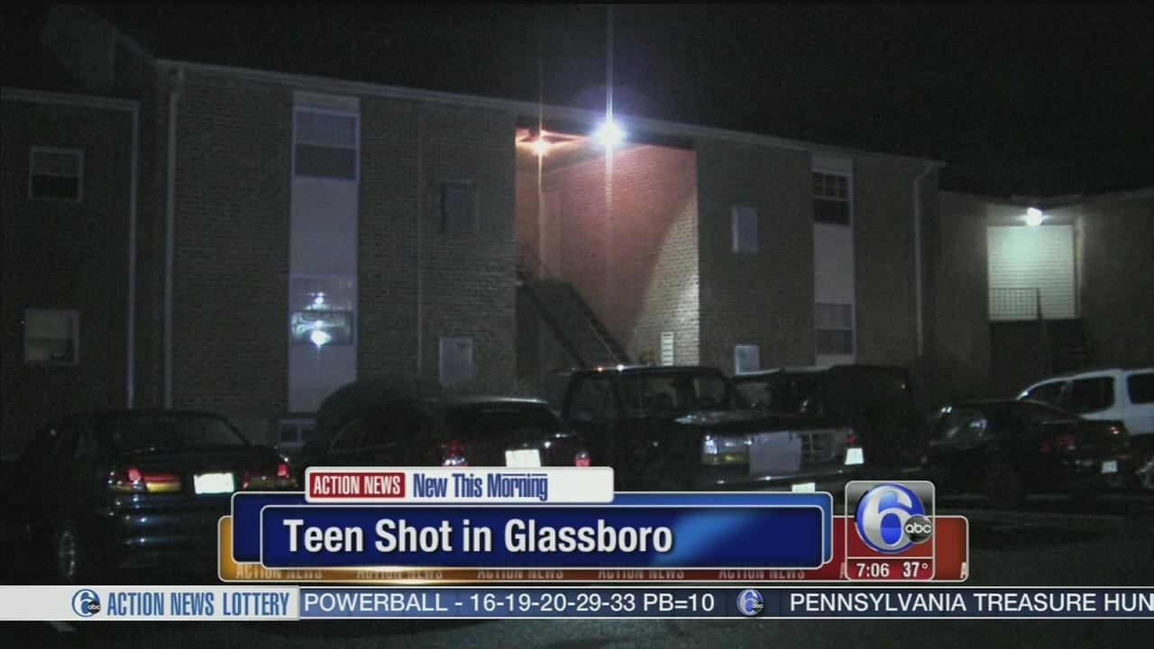 VIDEO: Teen shot in Glassboro
