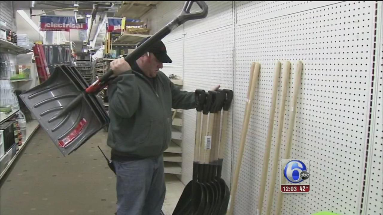 VIDEO: Region prepares for more snow