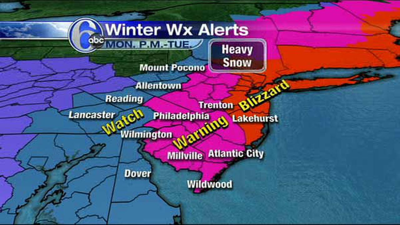 UPDATED MAPS: Two winter storms