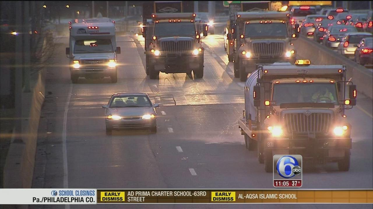 VIDEO: Tri-state area braces for even more snow