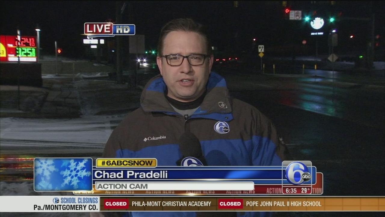 VIDEO: Chad Pradelli has the latest on storm preps in Pa.