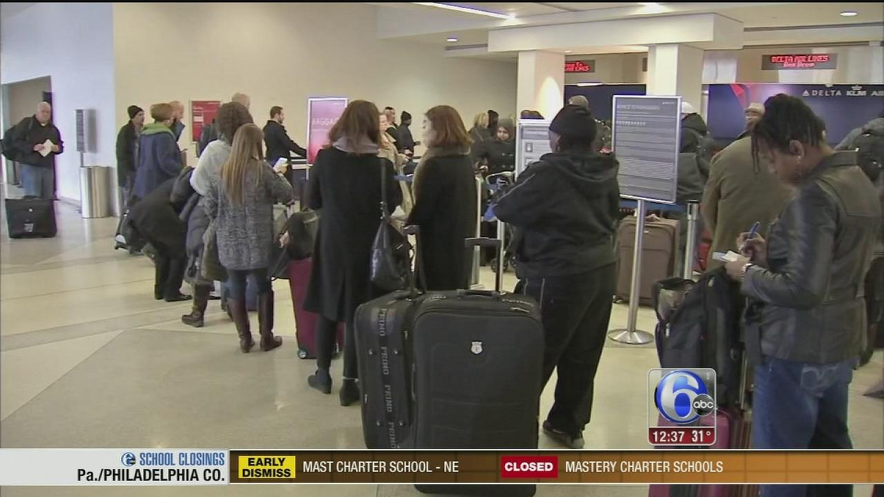 VIDEO: Katherine Scott on airport delays