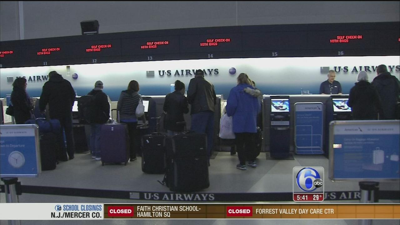 VIDEO: Katherine Scott reports from airport