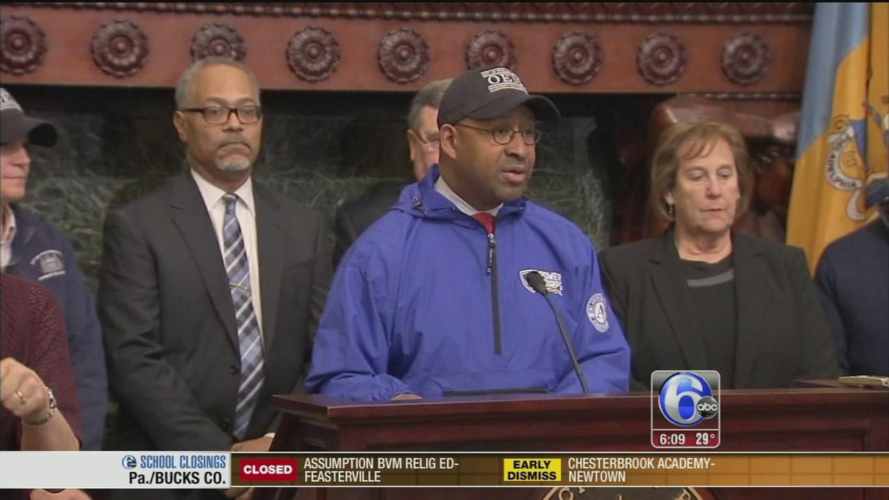 VIDEO: Philly declares snow emergency for Noreaster