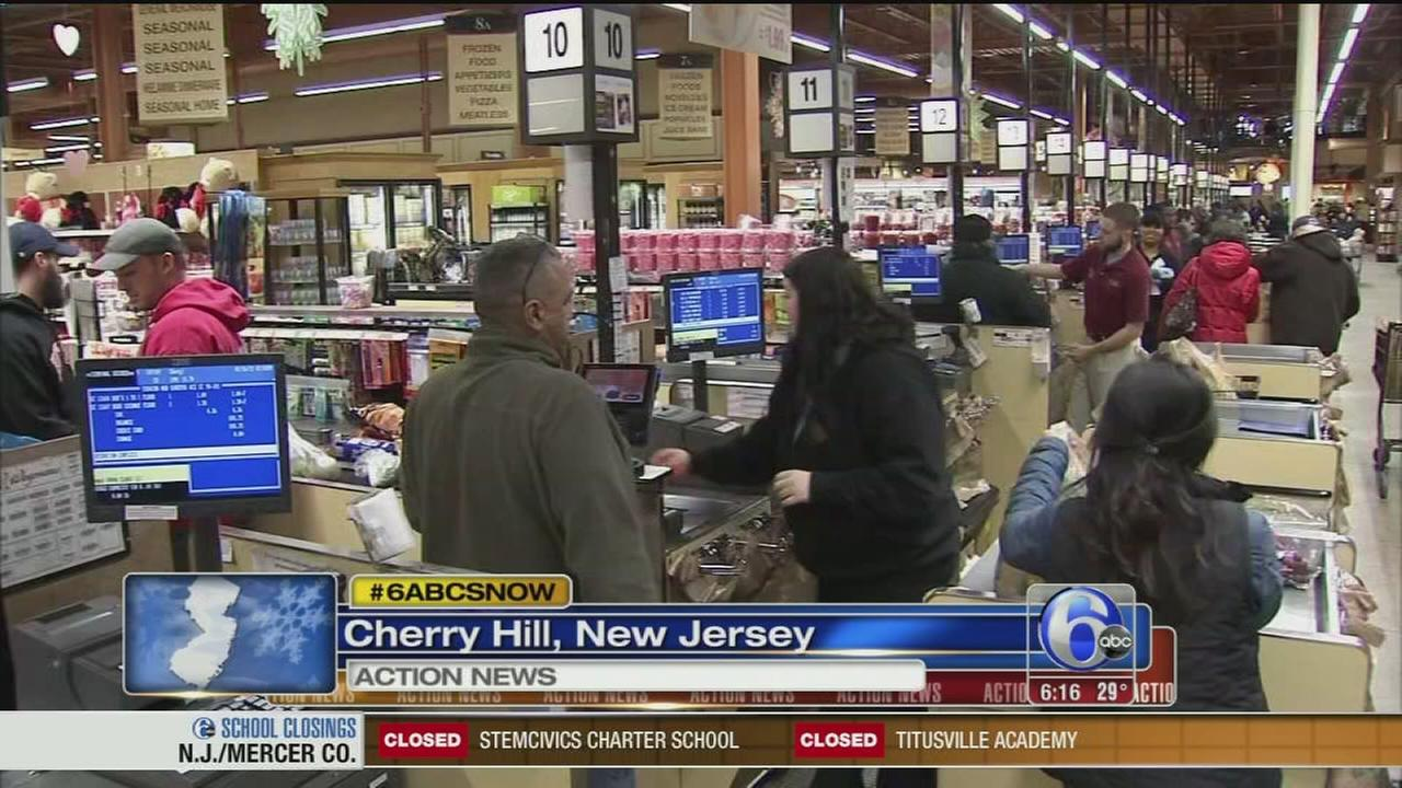 VIDEO: Sarah Bloomquist reports from NJ
